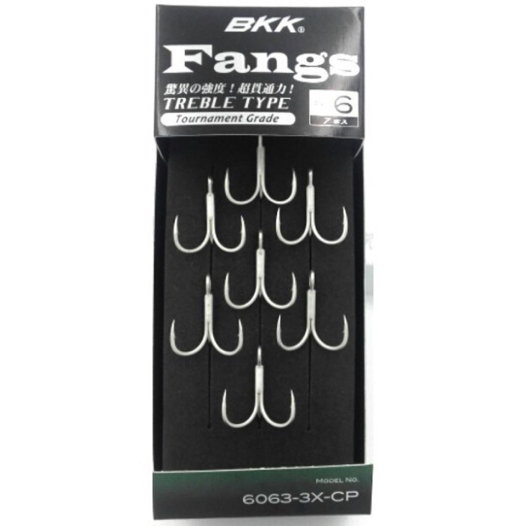 BKK Fangs Treble Tournament Grade 6063-3X-CP