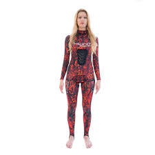 HUNTMISTRESS WETSUIT LADIES CAMO 1.5MM- 2 PIECE – LONG JOHN PANT & HOODED