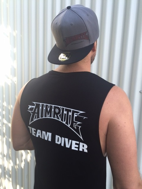 "International ""Team Diver"" sleeveless tee"