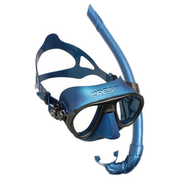 Cressi Calibro Mask & Corsica Snorkel Kit