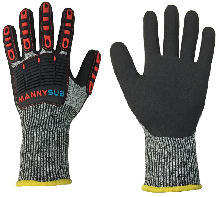 Manny Sub Dyneema Rubberised Gloves