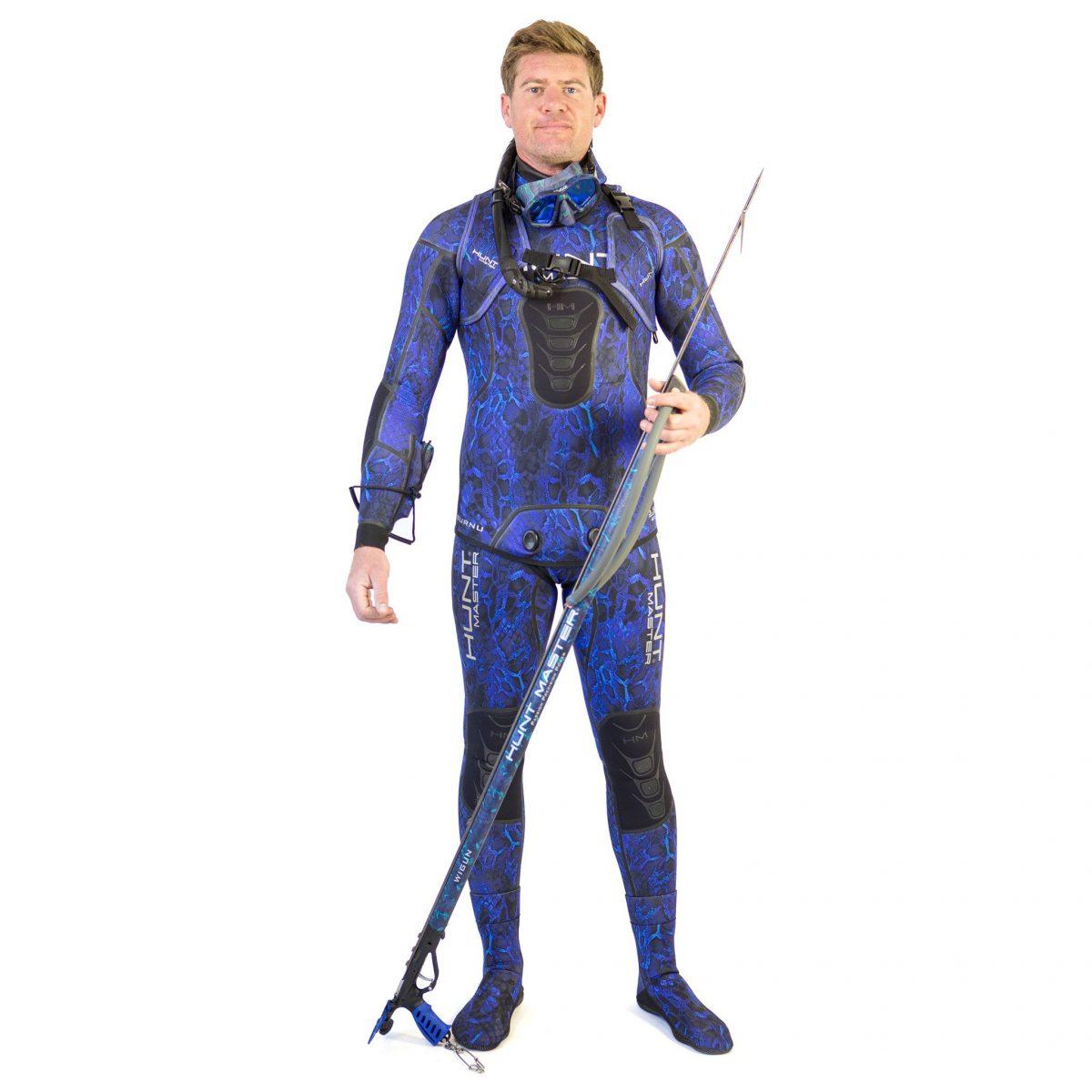 Huntsman Wetsuit Camo 1.5mm- 2 Piece - Long John Pant & Hooded Top